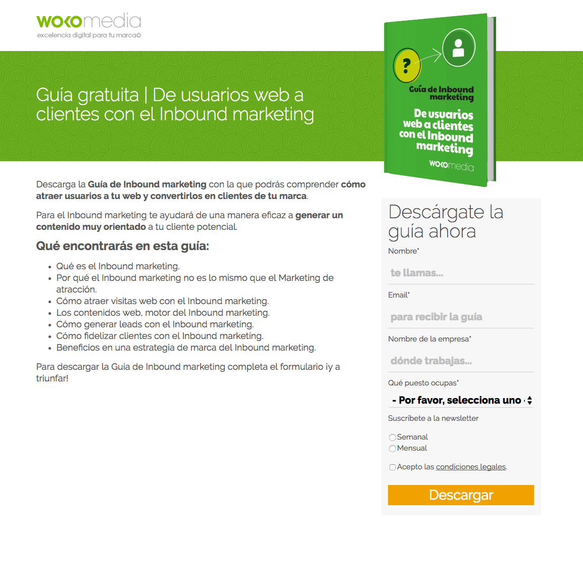 Guía Inbound Marketing